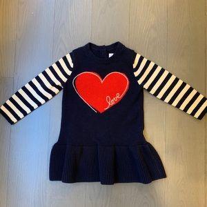 Gap sweater dress size 18-24m